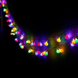 Image 5 - 100 M 800 Cổ Dây Đèn Bóng Vòng Hoa Giáng Sinh Năm Mới Ngày Lễ Sinh Nhật Cưới Luminaria Trang Trí Đèn Chiếu Sáng Sân Vườn