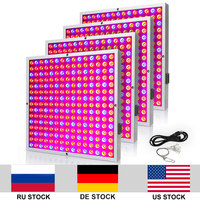4pcs/lot 45W AC85 265V Indoor Growing Lamp Red Blue Grow LED Lights For Plants Growing Flowering Fruiting Hydroponics led Panel