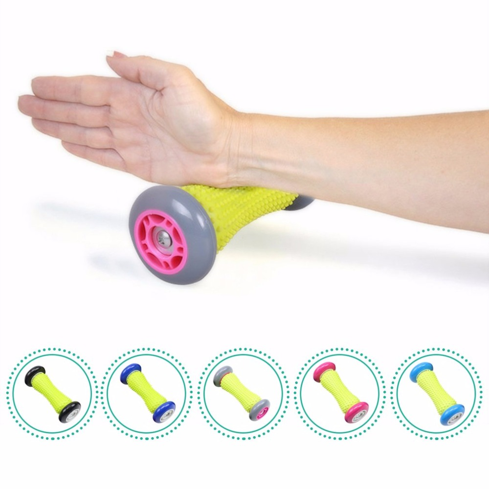 Gifts Wheel Massager Feet Massage Roller Pain Relief Feet Acupoint Massager Blood Circulation Relaxation Tool Hands Feet Care hand massager ball roller finger rolling massage floating point acupoint blood circulation fitness health care stress relax