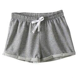 Лидер продаж, женские шорты в европейском стиле, повседневные хлопковые сексуальные шорты для дома, женские шорты для фитнеса