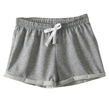 Hot Sale European Style Women Shorts Causal Cotton Sexy Home Short Women's Fitness Shorts(China)