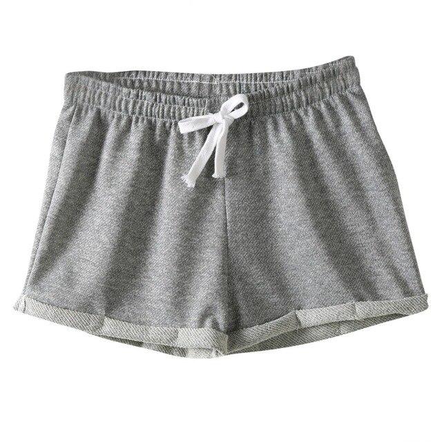 buscar auténtico múltiples colores nueva precios más bajos € 3.18 5% de DESCUENTO|Venta caliente estilo europeo mujeres Pantalones  cortos algodón casual sexy aptitud de las mujeres cortas Pantalones cortos  en ...