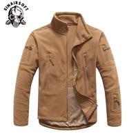 SINAIRSOFT Winter Jacke Militärische Taktische Outdoor Soft Shell Fleece Warme Jacke Männer Sportswear Armee Thermische Jagd Sport