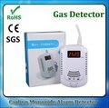 10 UNIDS Seguridad En El Hogar CO Detector de Gas Combustible GLP GNL Carbón Sensor de Alarma Con Voz de Advertencia de Alarma de Fugas de Gas Natural seguridad