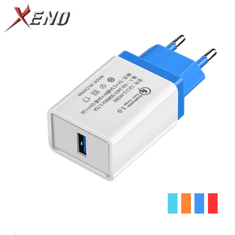 QC 3.0 USB Charger 5V3A Quick charge 3.0 for Samsung Xiaomi Huawei Mobile Phone Charger Adapter For iphone 6 7 8 Plus X Xs