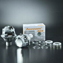 "Aozoom New Arrival Nondestructive Metal 3.0 "" H4  HID Bi  Xenon  Lens  Projector"