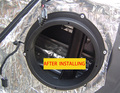 Стерео коврик для передней двери  проводной жгут  адаптер  вилки  пластины  кронштейн  кольцо 6 5