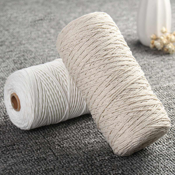 1 мм x 400 м хлопок витой шнур веревка для домашнего текстиля Craft богемный макраме BOHO строка ручной работы, декоративные аксессуары