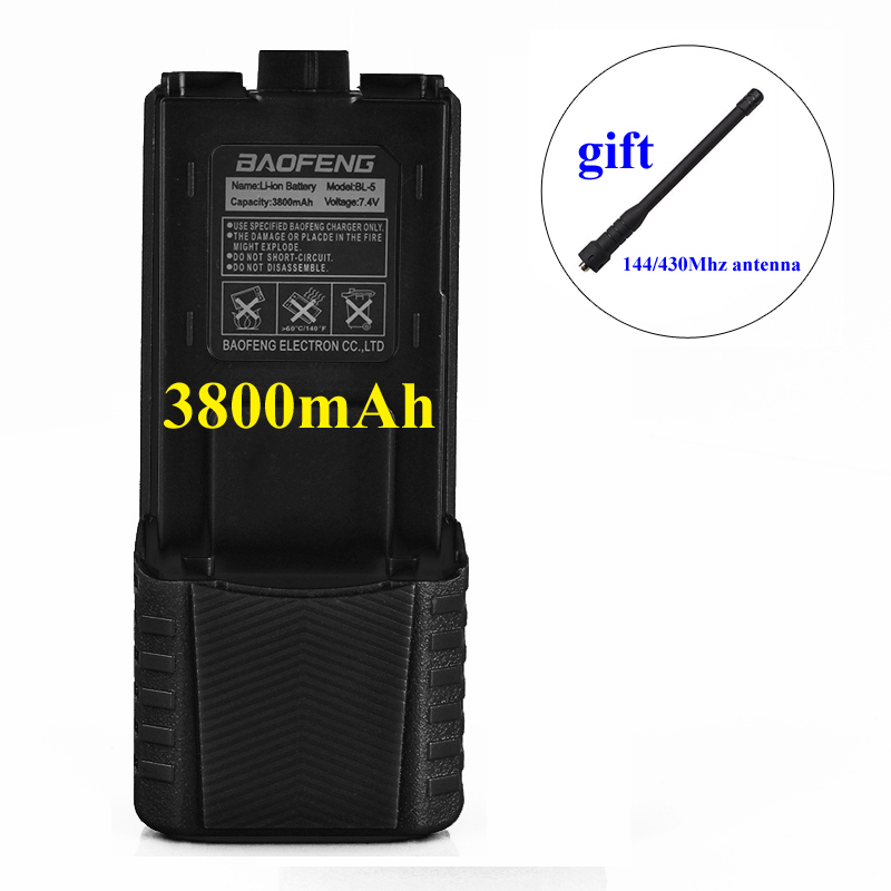BL-5 Baofeng Battery UV-5R For Walkie Talkie Baofeng UV-5R UV-5RE UV-5RA BF-F8 Baofeng UV-5R Battery