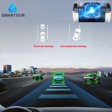 Smartour 1080P ADAS USB Автомобильный видеорегистратор подключение к автомобильный dvd-плеер на основе Android ночного видения