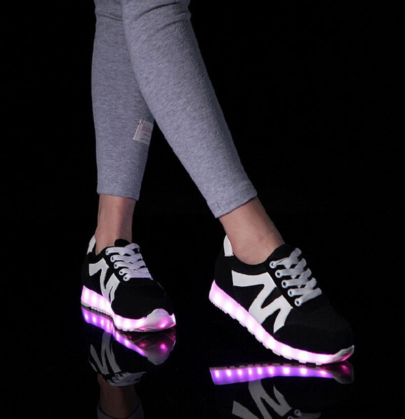 Shoes Led Shoes Men Nice Fashion Causal Led Luminous Shoes Lovers Fashion Basket Led Light Up Shoes For Adults Men Shoes 7c11
