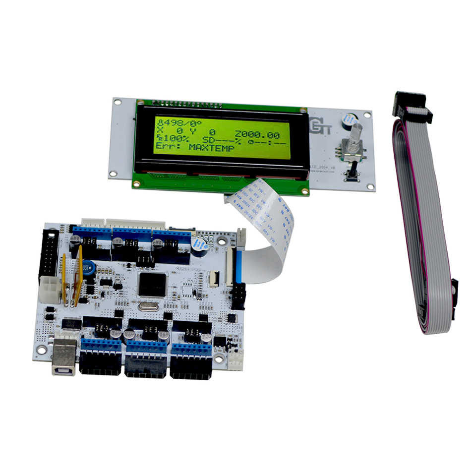 Geeetech GTM32 Pro VB motherBoard LCD 2004 Display combo kit