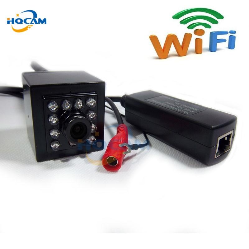HQCAM 960P IR CUT Wireless camera Mini IR Wifi IP CCTV Mini POE Camera 940nm Led Ir Ip Cam With Ir Cut cctv Night Vision camera mini ir