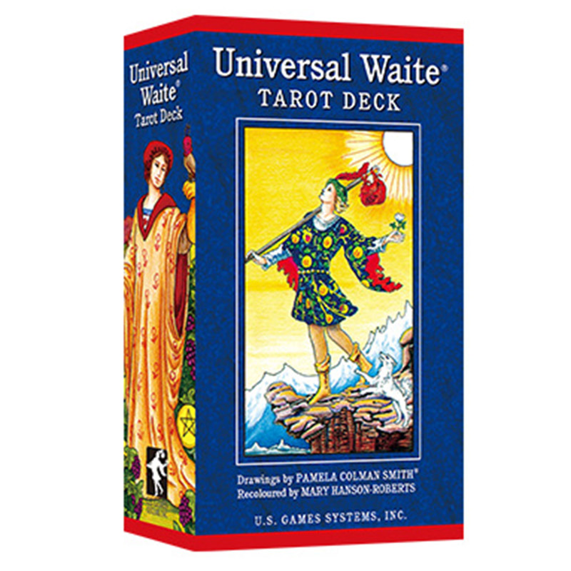 Popular version of the classic Weite Tarot English Divination love business Tarot divination game board game cards in Desk Set from Office School Supplies