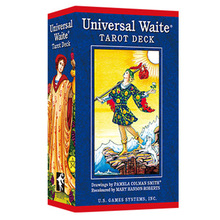 Popular version of the classic Weite Tarot English Divination love business Tarot divination game board game cards the zombie tarot