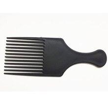 Beauté fille professionnel nouveau Afro peigne cheveux bouclés brosse Salon de coiffure style longue dent style choisir livraison directe 3A25
