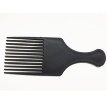 Ragazza di Bellezza Professionale New Afro Ricci Pettine Spazzola di Capelli Del Salone di Parrucchiere Styling Lungo Dente di Styling Pick Trasporto di Goccia 3A25