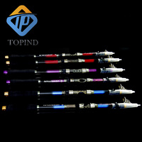2PCS TOPIND Saltwater Offshore Trolling Spin Rod Conventional Boat Rod Carbon Fishing Lure Rods