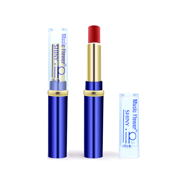 Music Flower 12 Colors to Choose Sexy Rose red Lip Gloss Matte lipstick Fashion Women Makeup Waterproof Cosmetics lips lipstick 12