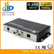 Урай HEVC H.265 HD 3 г SDI IP потокового encoder HD-SDI IPTV кодер H265 RTMP RTSP UDP sdi передатчик H264 Live Streaming сервер