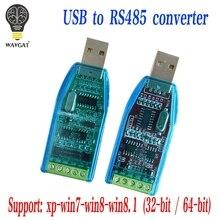 Endüstriyel USB RS485 422 CH340G dönüştürücü yükseltme koruması dönüştürücü uyumluluğu standart RS 485 bir konnektör devre kartı modülü