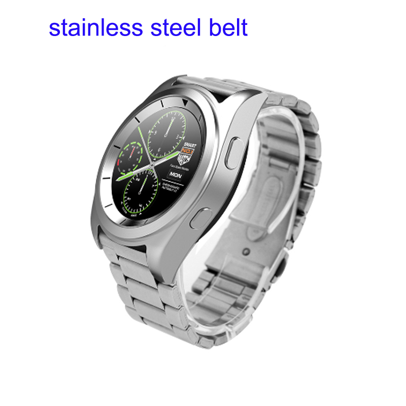 best selling metal case Smart Watch 1 22inch touch Screen clock Support Heart Rate Monitor Bluetooth