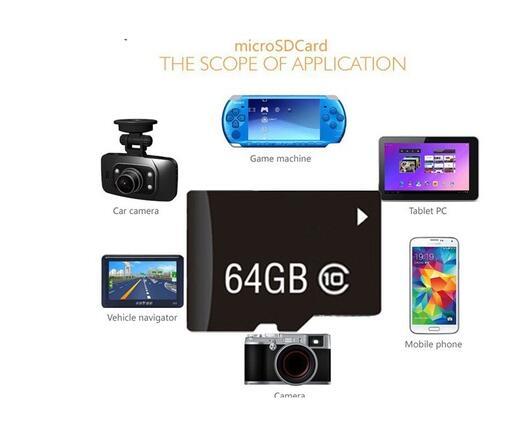 מחשבי וברזי השקיה איכות גבוהה כרטיס TF כרטיס SD מיקרו מיני 8GB Class10 16 GB 32 כרטיסי זיכרון GB 64GB 128GB זיכרון microSD עבור טלפון / Tablet / מצלמה (4)