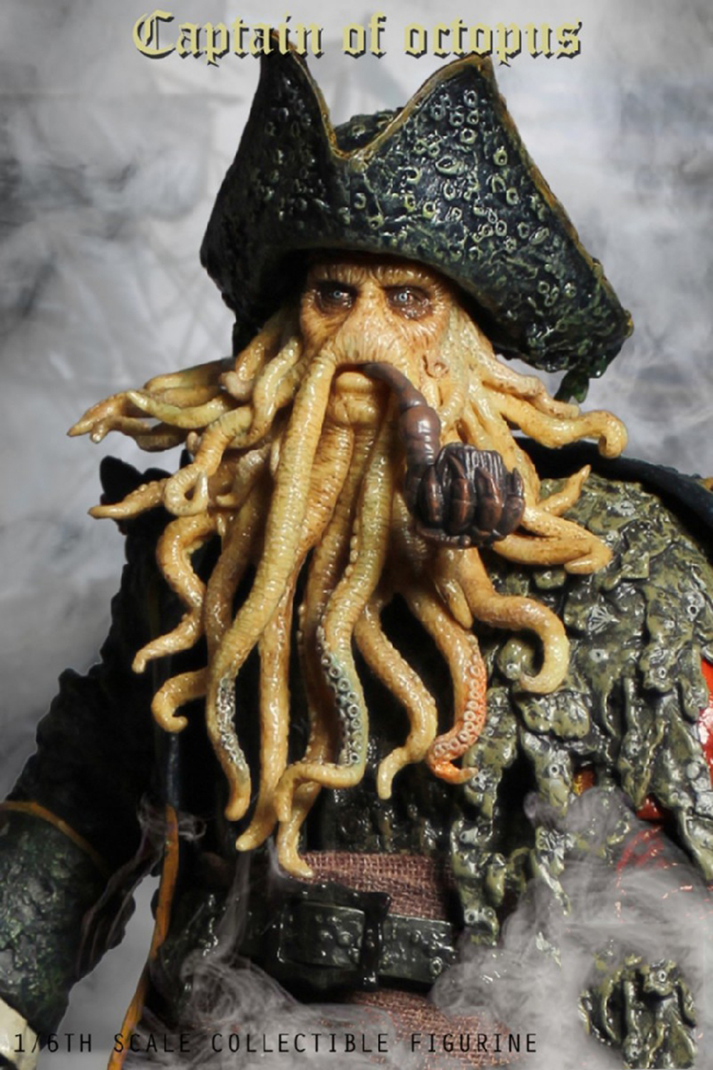 1/6 Caribbean Captain Action Figure Davy Jones figure doll full set doll With ACC Colletible Model Toys And original box 3