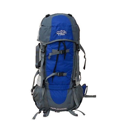 Large capacity camping hiking backpack free rain cover-in ...