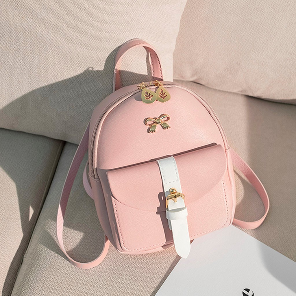 HTB12S5fNhTpK1RjSZFKq6y2wXXaO Convenient fashion Travel Fashion Lady Shoulders Small Backpack Letter Purse Mobile Phone mochilas Canta