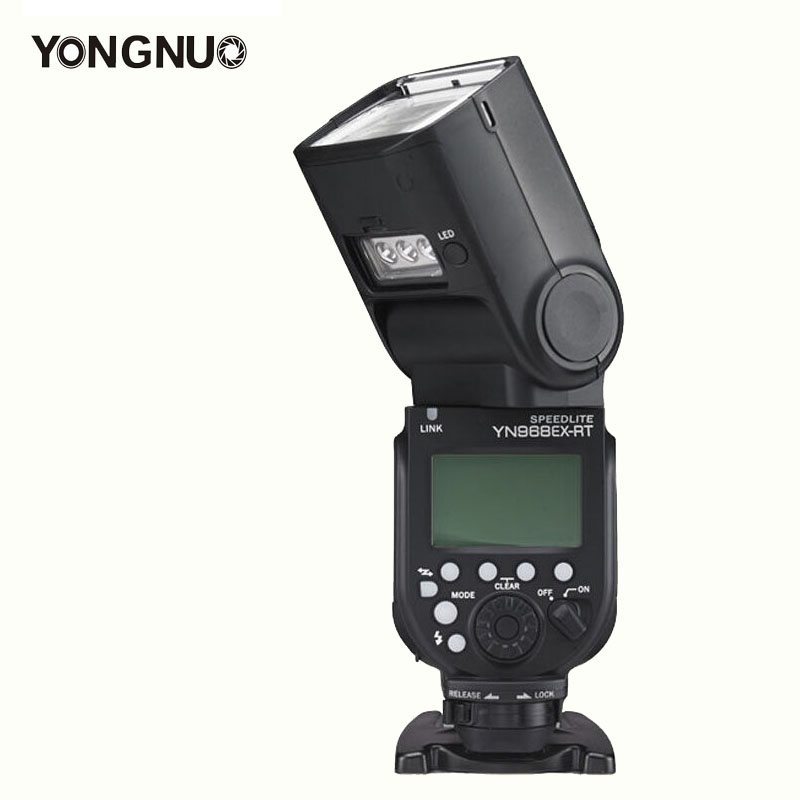 YONGNUO YN968EX-RT Anti-Throw Wireless Flash LED Light high Speedlite Light TTL for Canon YN-E3-RT\YN600EX-RT 600EX-RT\ST-E3-RT rt