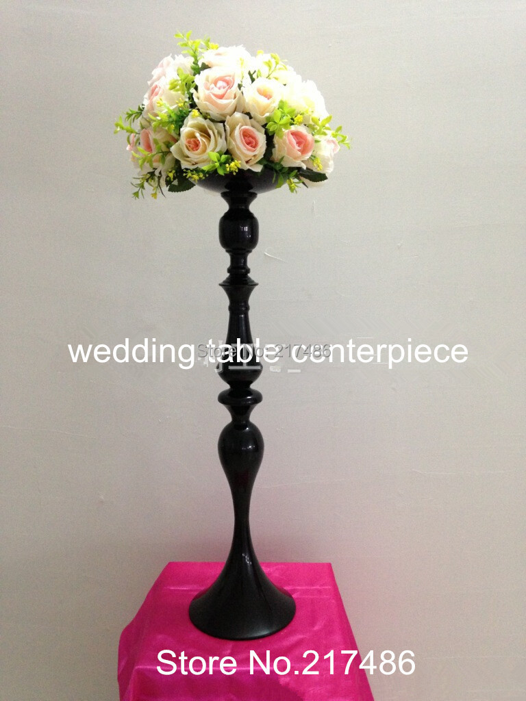 wholesale cheap tall mental flower vase centerpieces-in Glow Party ...