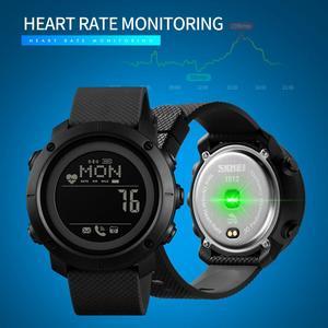 Image 3 - SKMEI spor izle erkekler su geçirmez izle pusula dijital saatı kalp hızı kalori saati reloj hombre