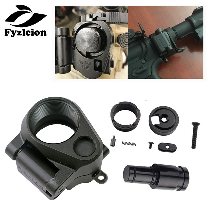 Fyzlcion Hunting Scope Mount Tactical AR Folding Stock Adapter For M16/M4 SR25 Series GBB(AEG) For Airsoft