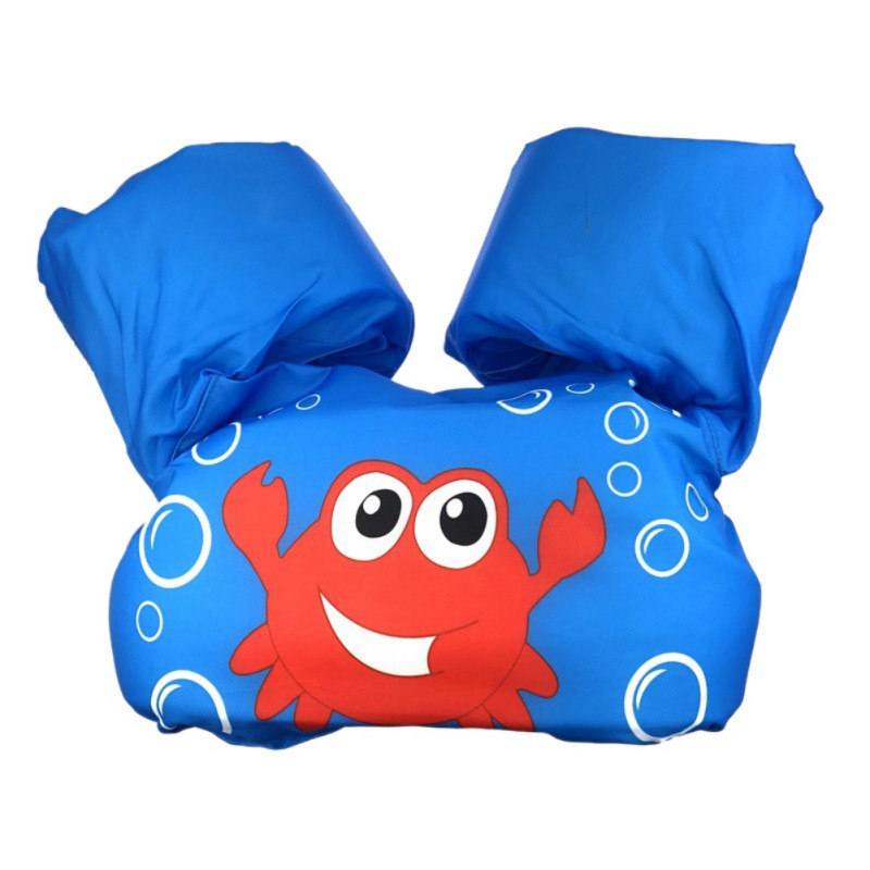 Children Swimming Pool Accessories Vest Jackets Kids Water Sports Jacket Baby Learn Swimming Snorkeling Buoyancy Vest Funnys New