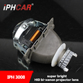 Free Shipping IPHCAR Universal Car External Lights Q5 HID Projector Lens 3.0 Inch without D2H Xenon Blub and Ballast