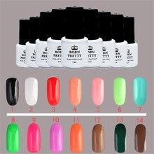 Born Pretty 1 Bottle 5Ml Gel Polish Candy Colors Nail UV Gel Polish Nail Art Gel Varnish