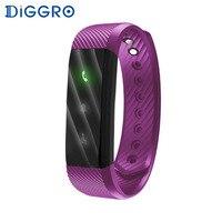 Diggro ID115 Lite Smart brecelet простой три светодиодный индикатор Bluetooth Спорт Смарт Группа Браслет для iOS и Android