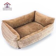 Кровати для собак кровати для кошек хлопковые дышащие диваны для собак домик для кошек кровать для собак Ручная стирка скамейка для маленьких больших собак кровать для домашних животных XR0002