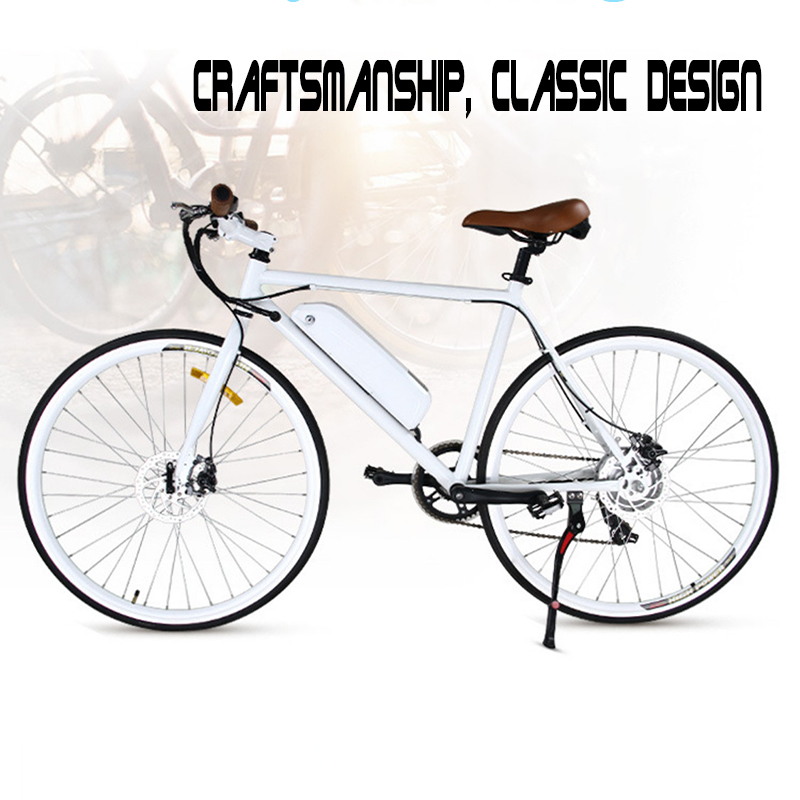 Variable speed regulating electric bicycle 26 inch 250W lithium battery aluminum alloy adult bike