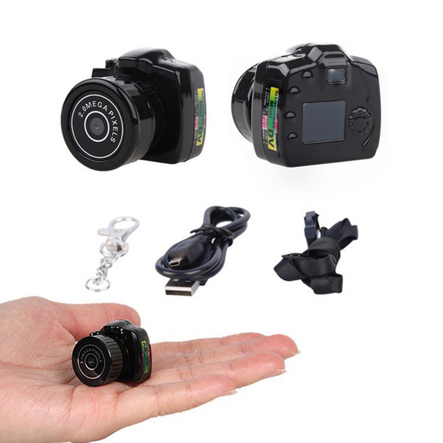 Micro Smallest Portable camera HD CMOS 2.0 Mega Pixel Pocket Video Audio Camera Mini Camcorder 480P DV DVR Recorder 720P JPG