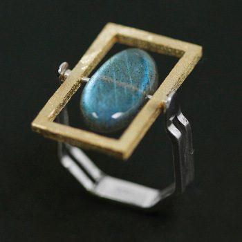 Natural Labradorite 925 Sterling Silver Rings3