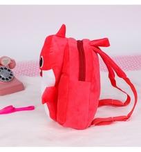 Dropshipping Baby Plush Shark Backpack Cute Cartoon Animal Schoolbag Travel Bag Kids Mini School Pre-School 2019