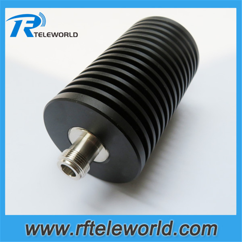 DC 3GHz/4GHz 50ohm100W attenuator N male to female 1dB,2dB,3dB,5dB,6dB,10dB.15dB.20dB.30dB,40dB,50dB coaxial attenuator-in Connectors from Lights & Lighting    1