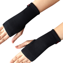 Kuangmi 1 Pair Carpal Tunnel Medical Wrist Support Brace Fitness Yoga Hand Palm Sprain Forearm Splint Weightlifting Wristbands carpal tunnel medical wrist joint support brace support pad sprain forearm splint for band strap protection safe wrist support