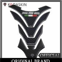 KODASKIN Real Carbon Tank Pad Sticker Decal Emblem for Ducati 959 Panigale