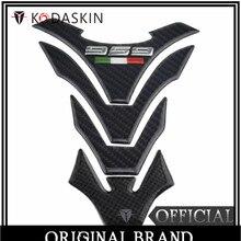 KODASKIN carbono Real tanque etiqueta engomada emblema para Ducati 959 Ducati