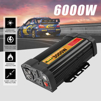 3000W Solar Power Inverter Max 6000W USB DC 12 V to AC 110 Volt Car Adapter Charge Converter Modified Sine Wave Transformer