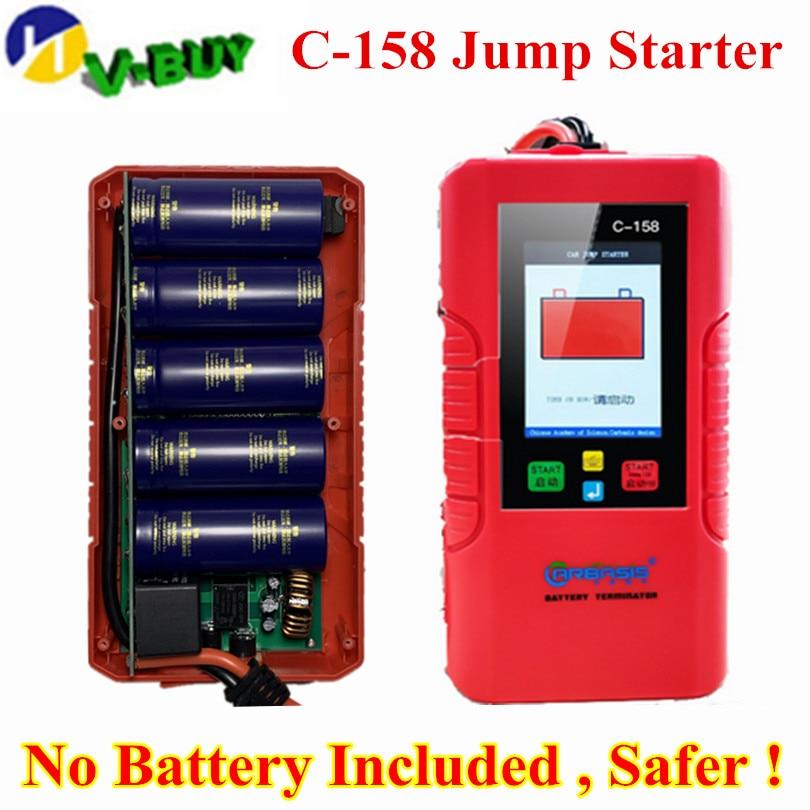 New Generation Car Battery power bank JUMP STARTER C158 C 158 12V No Battery Inside SUPER