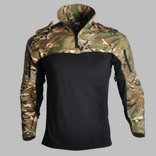 Outdoor T-shirt Men Long Sleeve Hunting Tactical Military Army Shirts Uniform Hiking Breathable Combat T Shirt Airsoft Clothes